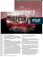 Combustible dust control - part 2