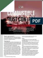 Combustible dust control - part 2