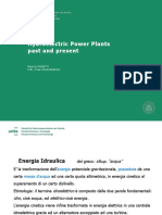 Hydroelectric Power Plants past and present