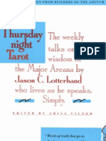Jason Lotterhand - The Thursday Night Tarot