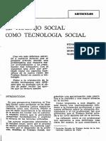 Aylwin de Barros _El Trabajo Social Como Tecnología Social