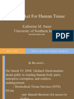 The Market for Human Tissue -ABE