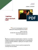 Lighting - Hard and Soft Light
