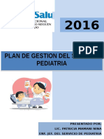 Plan de Gestion 2016 Pediatria (1)