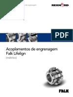 Acoplamentos de Engrenagem Falk Lifelign Metrico