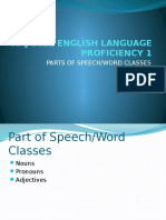 Waj 3022 English Language Proficiency 1