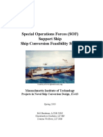 SOF Support ship conept