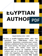 Egyptian Authors