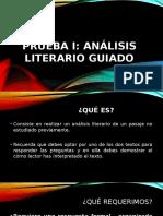 ANÁLISIS LITERARIO GUIADO