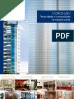 Folheto de aplicações dos Vidros UBV