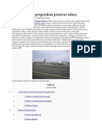 Marka Daerah Pergerakan Pesawat Udara