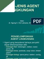 Jenis-jenis Agent Lingkungan