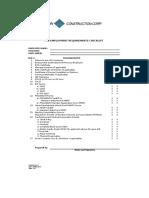 Pre-Employment Requirements Checklist