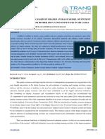 3. Ijesr -Teacher Evaluation Based on Graded Average Model of Student Feedback System