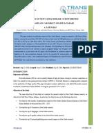3. Ijlsr-publications on New Castle Disease Scientometric Study Based on Cab Direct Online Database
