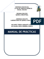 Manual de Quimica Analitica