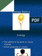 Energy Basics 6-8 Grade