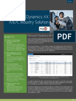 Microsoft Dynamics AX A/E/C Industry Solution