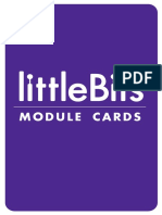 littlebits module cards
