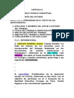 Marco Teòrico Conceptual Matrices 09 - 10