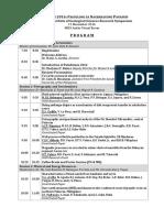 paladutaan 2016  13th nigs research symposium  program