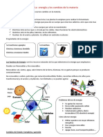Resumen Energia y Electricidad 6 Primaria SH