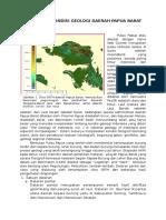 Geologi Regional Papua Barat