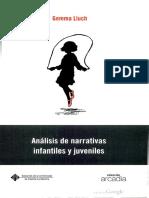 Análisis de Narrativas Infantiles y Juveniles de Gemma Lluch