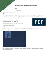 06. GIMP. Herramientas de Tranformación
