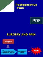 Acute Postoperative Pain Manila Relef.