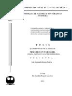 tesis evaluación economica