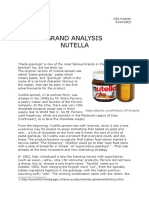 Nutella Branding