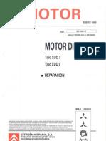 Motor Diesel XUD7 y XUD9