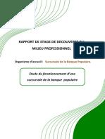 Rapport Banque Populaire