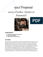 Case Study on Bobby Fischer