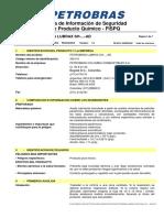 MSDS Lubrax Industrial SH-...-AD