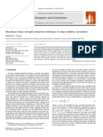 jurnal non-linier shear strength reduction.pdf