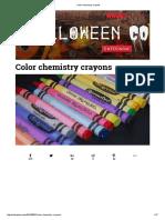 A química do Giz de Cera