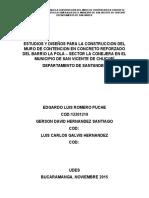 Informe Taludes - La Esmeralda