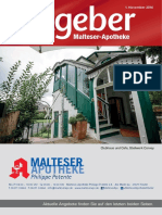 Ratgeber aus Ihrer Malteser-Apotheke – November 2016