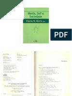 MORRIS, Charles W., Mente, Self e Sociedade - Cap.3