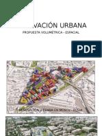 Renovación Urbana Volumetría