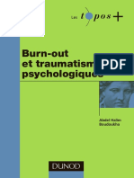 Burn-out Et Traumatisme Psychologiques - Dunod