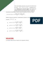 ejercicios EEDD de orden superior, método de series