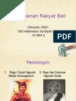 Perlawanan Rakyat Bali