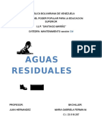 Mmto - Aguas Residuales