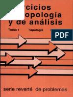 Ejercicios de topología y Analisis