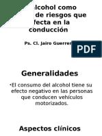 El Alcohol Como Factor de Riesgos Que Afecta