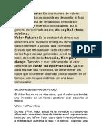 Valor Presente.doc