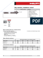 2014 88 Technical Data Sheet for HSL-GR Heavy Duty Anchor Technical Information ASSET DOC 2331127